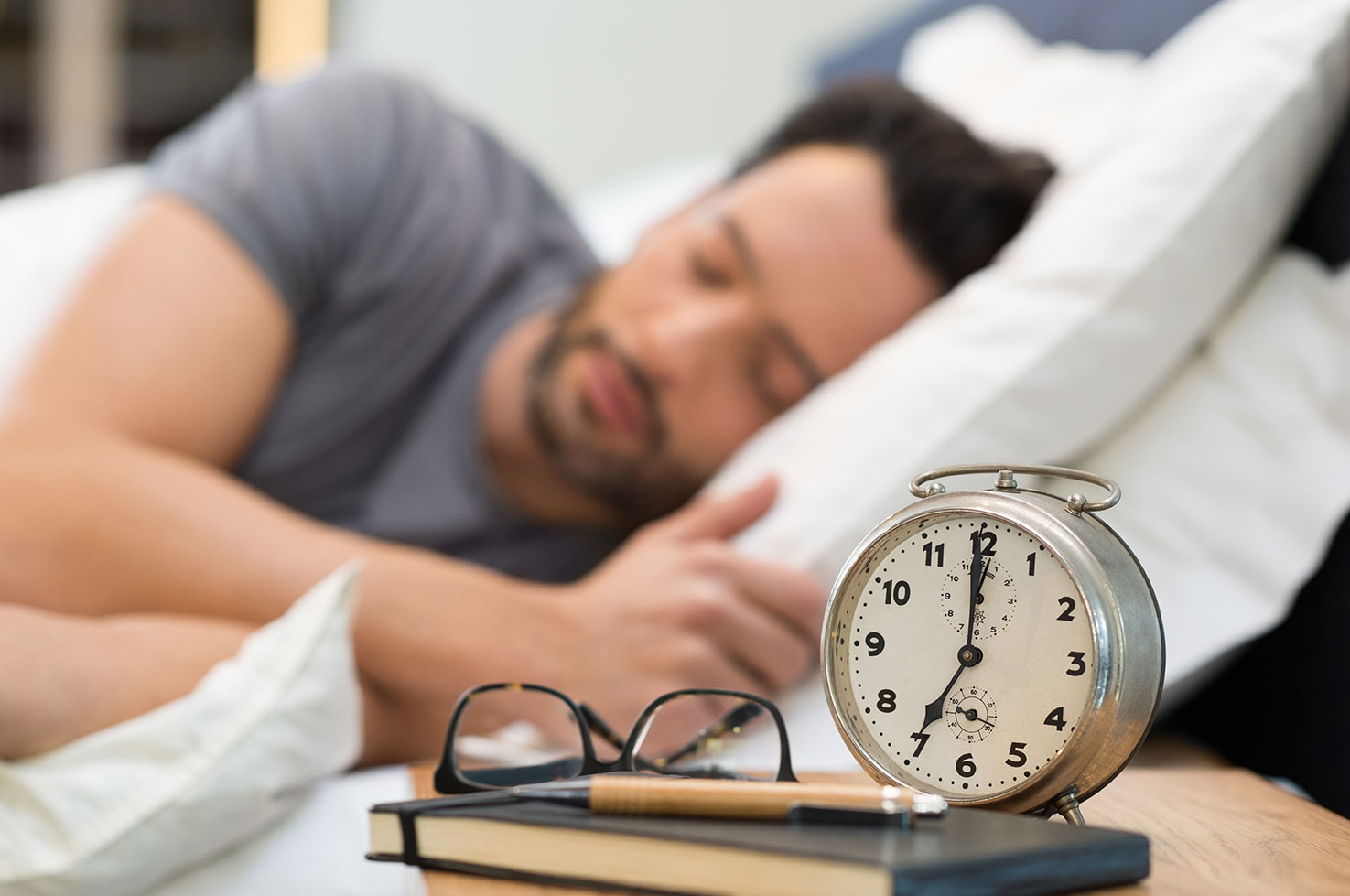 Make a habit of going to bed at the same time