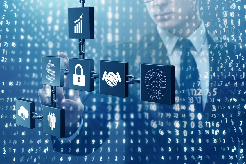 Data in blockchain is unalterable
