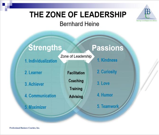 Zone of Leadership sample
